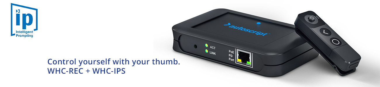 Autoscript Wireless Hand Control PG