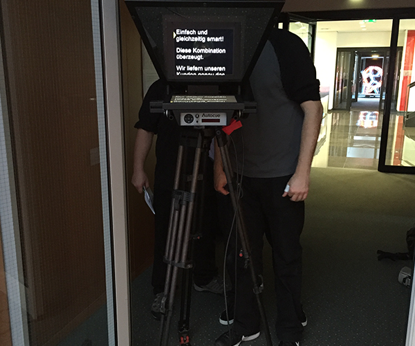Single Cam Prompter