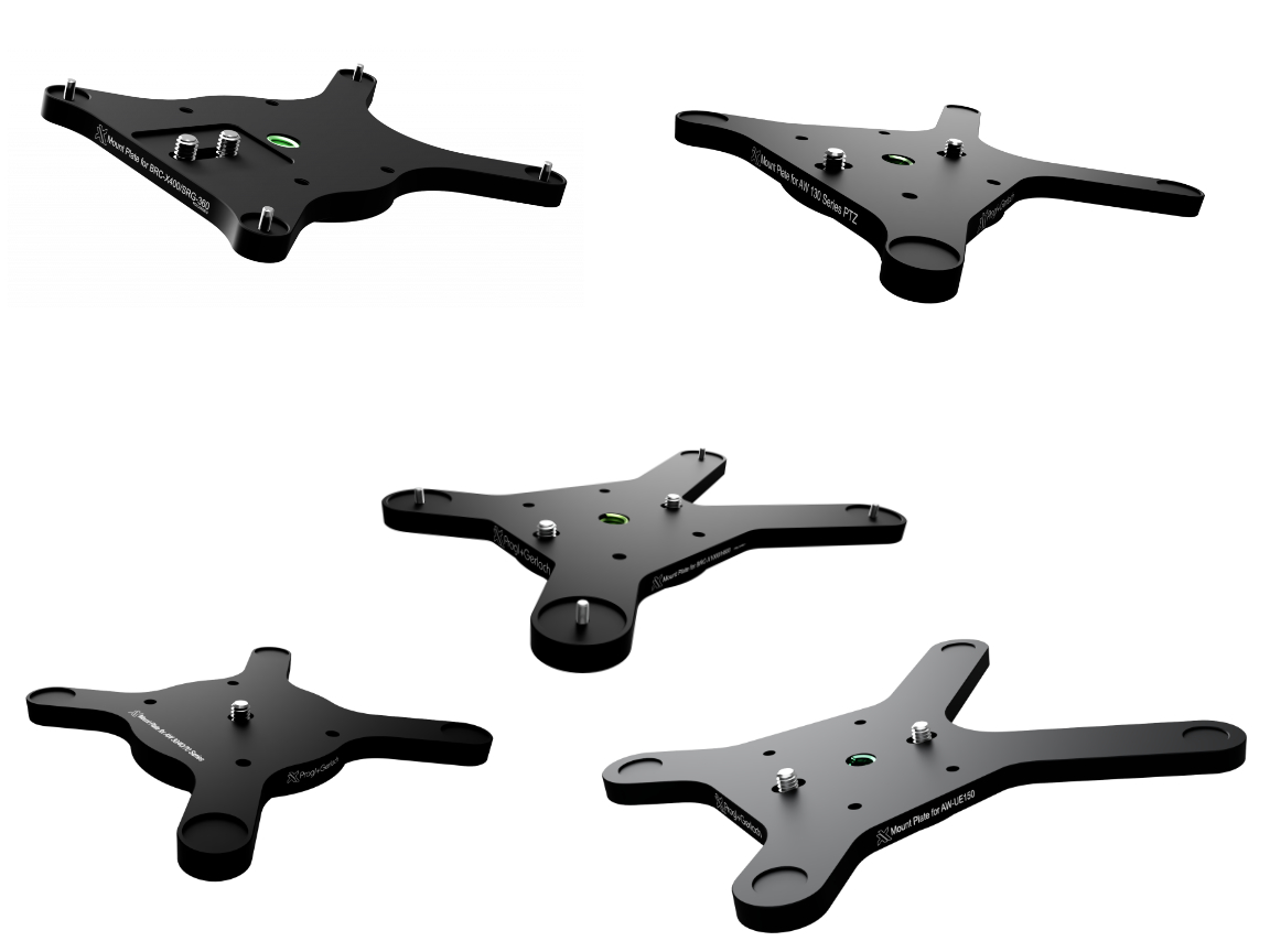 PTZ Mounting Plates Overview